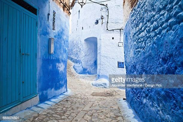 Backstreets of Chefchaouen medina