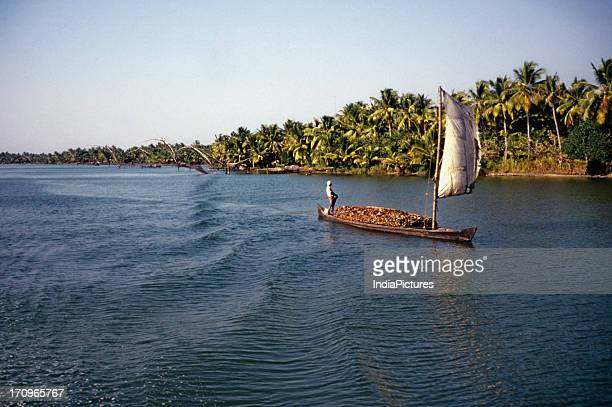 Backwaters Alappuzha to Quilon Kerala India