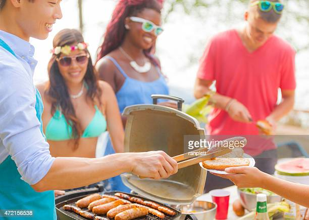 Backyard Barbecue-Party