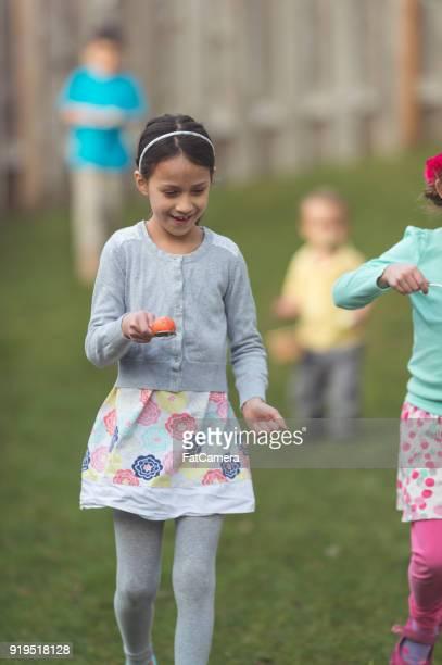 Backyard Easter Egg Hunt!