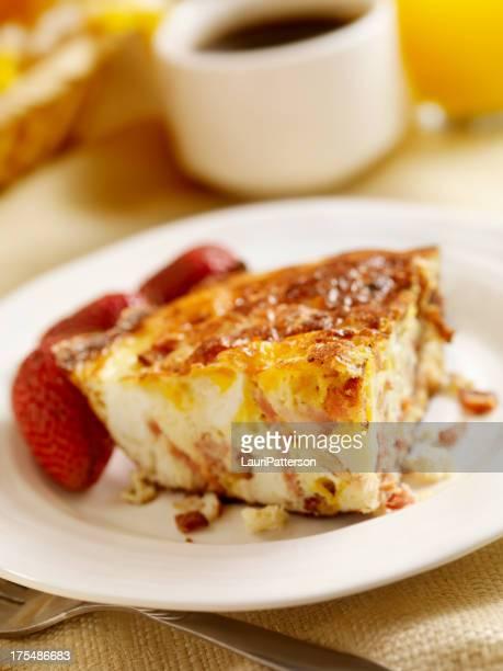 Bacon and Cheddar Frittata