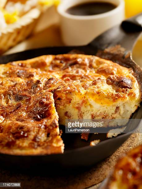 Bacon et fromage Frittata