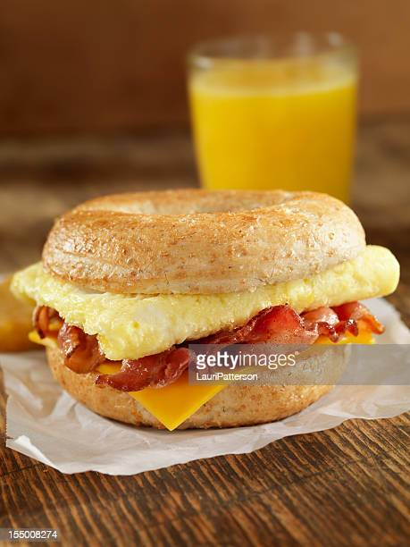 Bacon and Egg Breakfast Sandwich