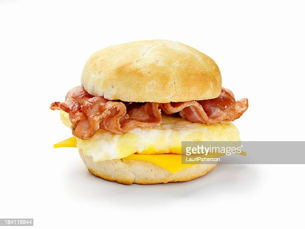 Bacon and Egg Breakfast Sandwich