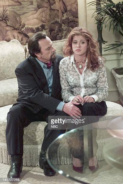 WILL GRACE 'Bacon and Eggs' Episode 2 Air Date Pictured Rip Torn as Lionel Banks Debra Messing as Grace Adler Photo by Chris Haston/NBCU Photo Bank