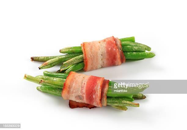 Bacon beans wraps