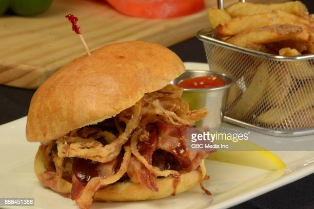 Bacon Cheeseburger Platter