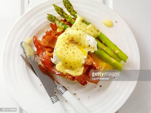 Bacon des œufs Bénédicte