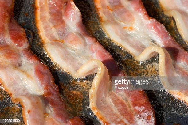 Bacon Frying On An Electric Griddle