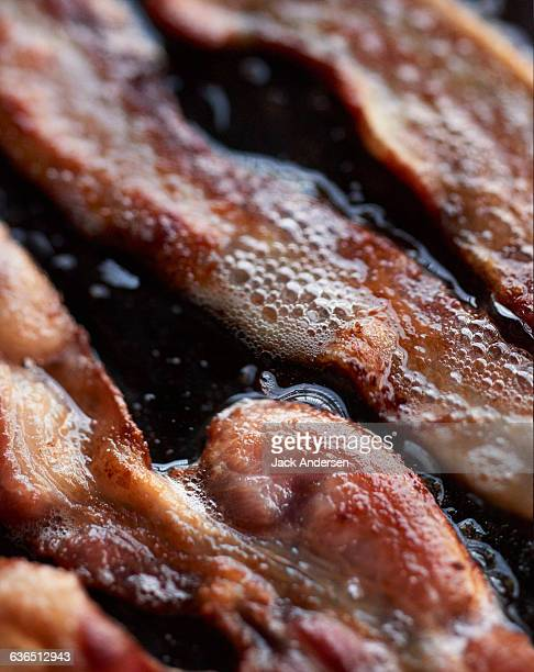 bacon strips - fried stock pictures, royalty-free photos & images