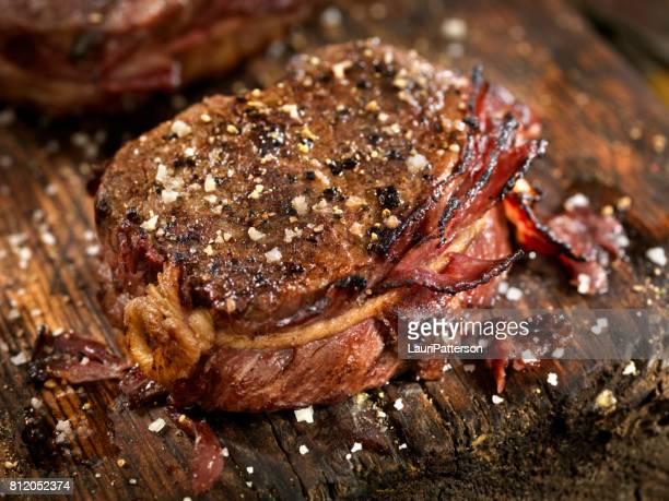 Bacon Wrapped Steak Fillet