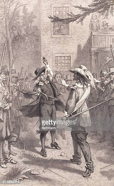 Bacon's Rebellion Nathaniel Bacon tried to force Governor Berkeley to institute reforms and was declared by Berkeley to be a rebel