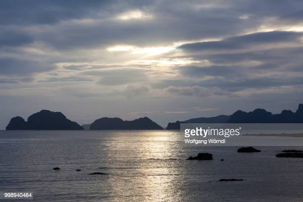 bacuit archipelago ii - wolfgang wörndl stock pictures, royalty-free photos & images