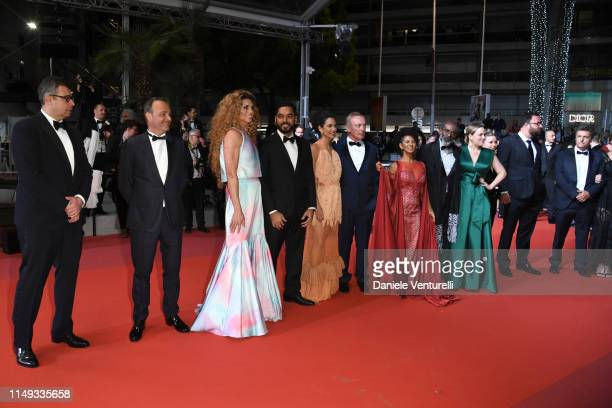 "Bacurau cast and crew attend the screening of ""Bacurau"" during the 72nd annual Cannes Film Festival on May 15, 2019 in Cannes, France."