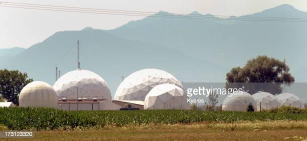Bad Aibling Station a monitoring base of the US intelligence organization NSA in Bad Aibling Bavaria Germany 30th June 2003