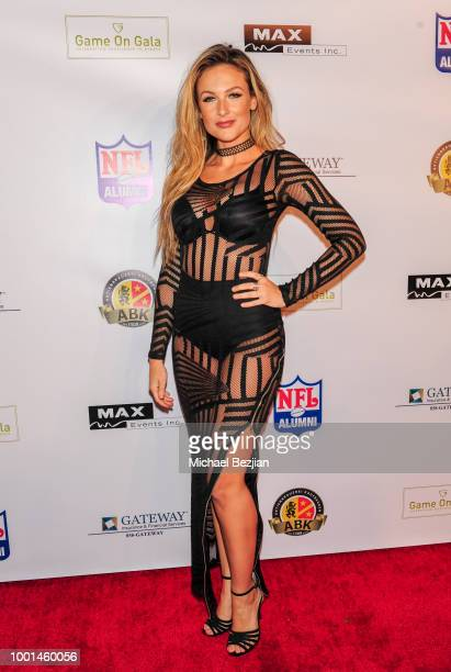 Bad Ash attends Game On Gala: Celebrating Excellence In Sports at Boulevard3 on July 17, 2018 in Hollywood, California.