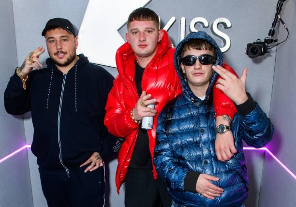 GBR: Bad Boy Chiller Crew Visits KISS FM