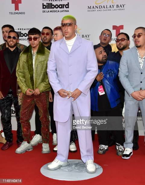 Bad Bunny attends the 2019 Billboard Latin Music Awards at the Mandalay Bay Events Center on April 25, 2019 in Las Vegas, Nevada.