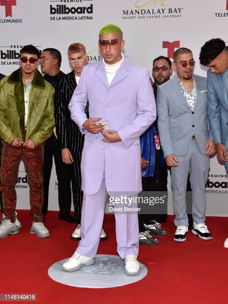 Bad Bunny attends the 2019 Billboard Latin Music Awards at the Mandalay Bay Events Center on April 25 2019 in Las Vegas Nevada