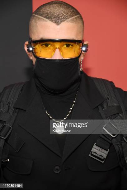Bad Bunny attends the 2019 MTV Video Music Awards at Prudential Center on August 26 2019 in Newark New Jersey