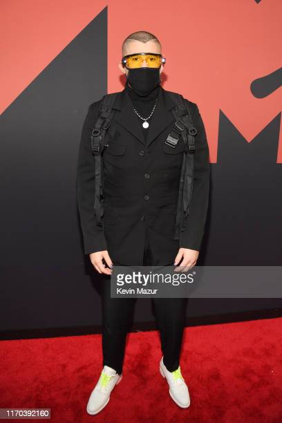 Bad Bunny attends the 2019 MTV Video Music Awards at Prudential Center on August 26, 2019 in Newark, New Jersey.