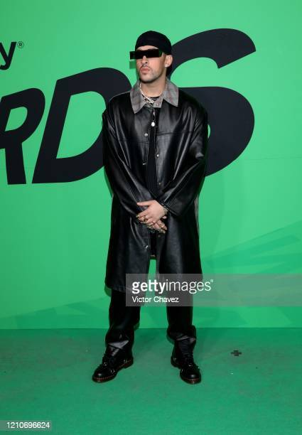 Bad Bunny attends the 2020 Spotify Awards at the Auditorio Nacional on March 05 2020 in Mexico City Mexico