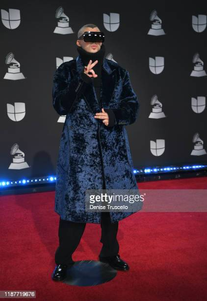 Bad Bunny attends the 20th annual Latin GRAMMY Awards at MGM Grand Garden Arena on November 14, 2019 in Las Vegas, Nevada.