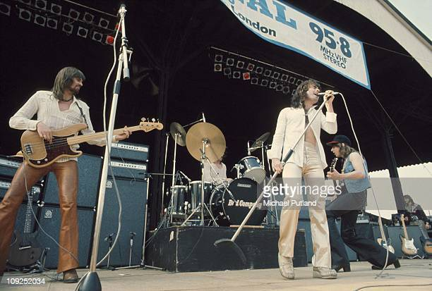 Bad Company perform at Charlton Athletic London Boz Burrell Paul Rodgers