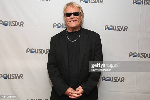 Bad Company's Brian Howe backstage during the 26th Annual PollStar Awards at Ryman Auditorium on February 21 2015 in Nashville Tennessee