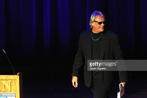 Bad Company's Brian Howe presents during the 26th Annual PollStar Awards at Ryman Auditorium on February 21 2015 in Nashville Tennessee