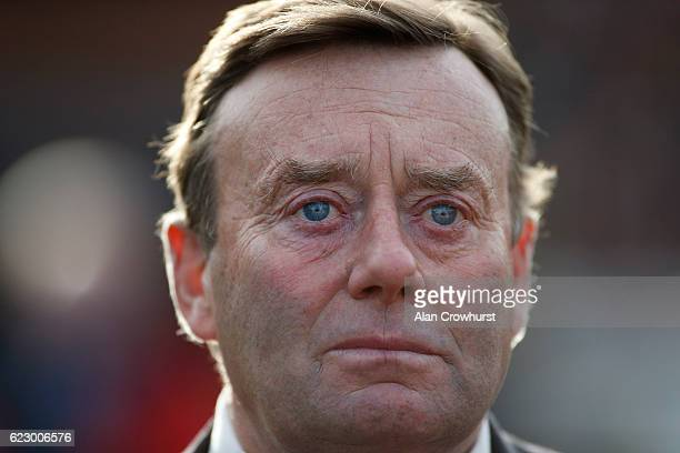 A bad day at the race for trainer Nicky Henderson at Cheltenham Racecourse on November 13 2016 in Cheltenham England