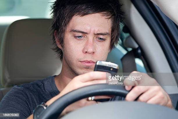 Bad Driver: Teen Texting while Driving