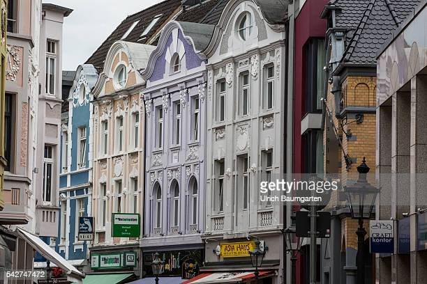 Bad Godesberg district of Bonn formerly diplomatic quarter and until now home to many beautiful villas makes negative headlines The photo shows...