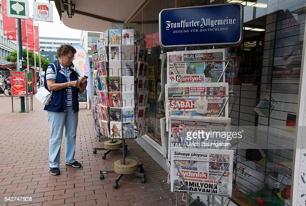 Bad Godesberg district of Bonn formerly diplomatic quarter and until now home to many beautiful villas makes negative headlines Street scene and a...