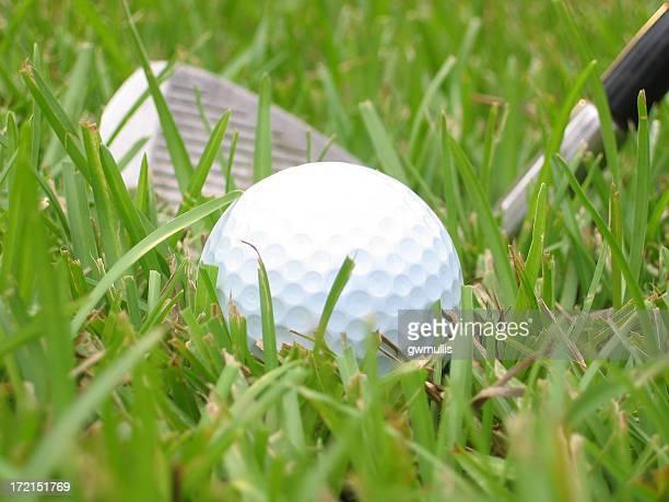 Schlechte golf liegen Landschaft