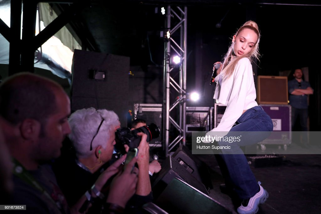 Bad Gyal performs onstage at the Music Opening Party during SXSW at The Main on March 13, 2018 in Austin, Texas.