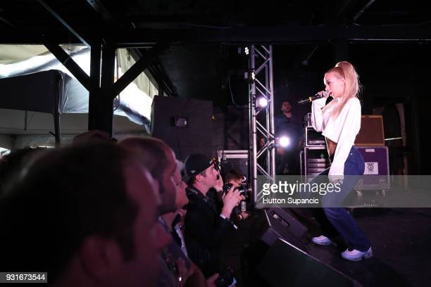 Bad Gyal performs onstage at the Music Opening Party during SXSW at The Main on March 13 2018 in Austin Texas