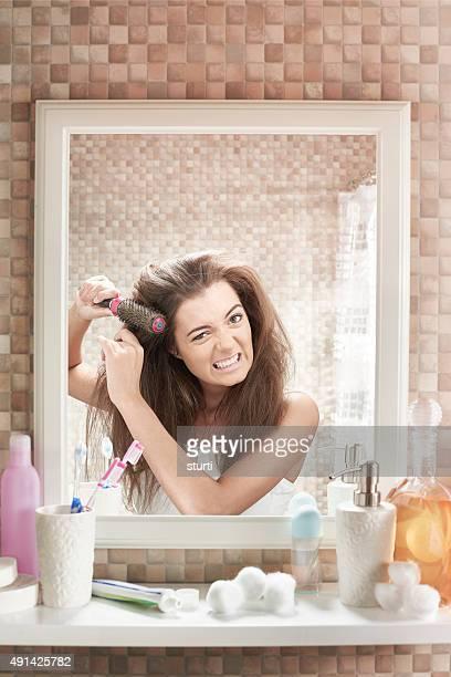 Schlechte Haare Tag