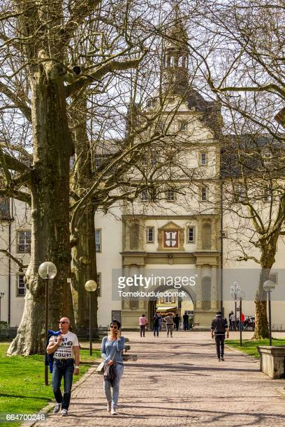 bad mergendheim - kleinstadt stock pictures, royalty-free photos & images