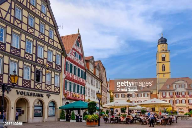 Bad Mergentheim, Marktplatz (Baden-Württemberg, Germany)