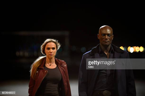 MIDNIGHT TEXAS 'Bad Moon Rising' Episode 102 Pictured Arielle Kebbel as Olivia Peter Mensah as Lemuel