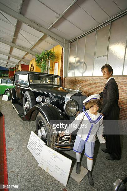 DEU GERMANY Bad Oeynhausen Motor Technica Museum MercedesBenz Nuerburg History of automobile history from 1886 up to now Starting with the Daimler...