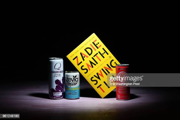Bad People Book Club boxed book subscription features Swing Time by Zadie Smith and spirited beverages May 16 2018 in Washington DC