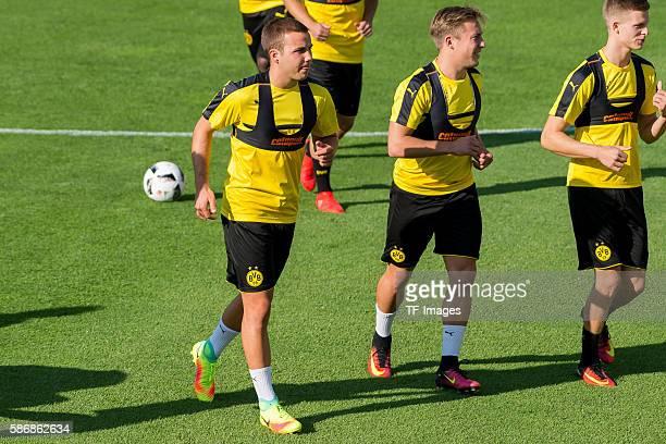 Bad Ragaz, Schweiz , Trainingslager BV Borussia Dortmund, BVB, Mario Goetze