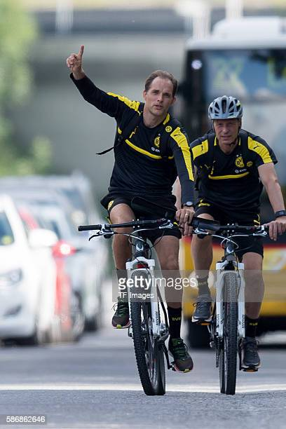 Bad Ragaz Schweiz Trainingslager BV Borussia Dortmund BVB Trainer Thomas Tuchel AthletikTrainer Rainer Schrey