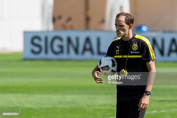 Bad Ragaz, Schweiz , Trainingslager BV Borussia Dortmund, BVB, Trainer Thomas Tuchel