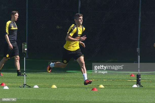 Bad Ragaz Schweiz Trainingslager BV Borussia Dortmund BVB Christian Pulisic