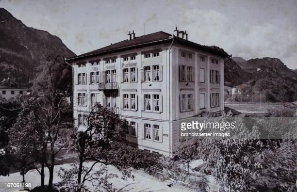 Villa Georg Puchner 1897 Photograph by Franz Grainer / Bad Reichenhall Photograph Bad Reichenhall Villa Georg Puchner 1897 Photographie von Franz...