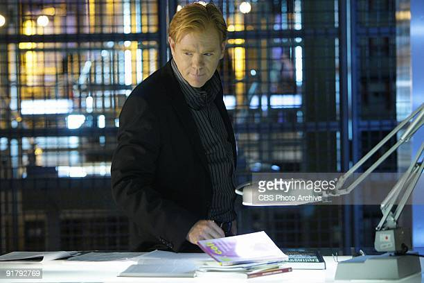 'Bad Seed' The team must race against time to stop a deadly outbreak in Miami on CSI MIAMI Monday Oct19th on the CBS Television Network Pictured...