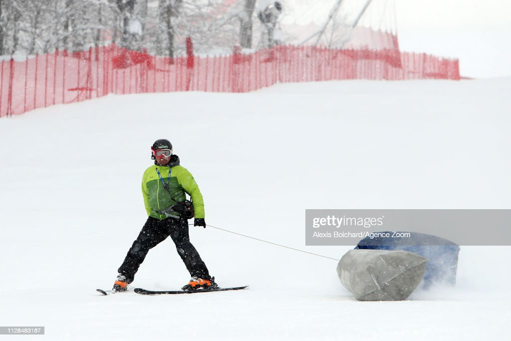 RUS: Audi FIS Alpine Ski World Cup - Women's Super G